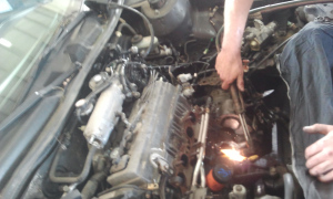 piston-rod-through-the-engine-block-must-be-burned-out